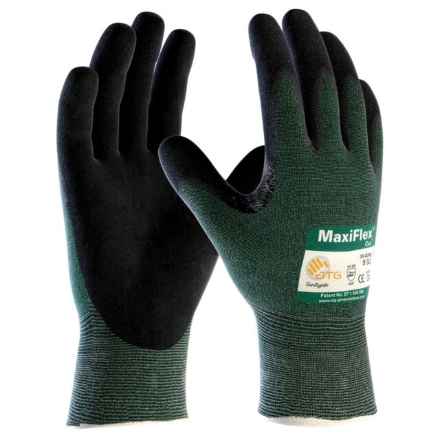 MaxiFlex Cut Resistant Nitrile Foam Coated Work Gloves
