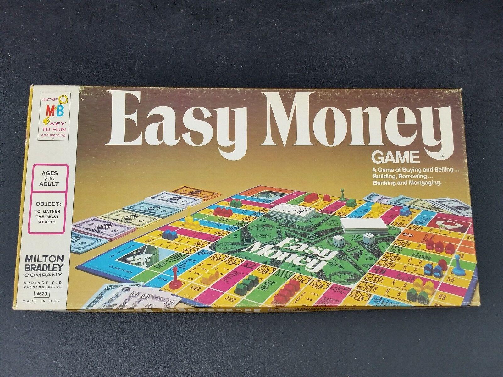 rescontentglobalinflowinflowcomponenttechnicalissues Vintage Milton Bradley Easy Money Game