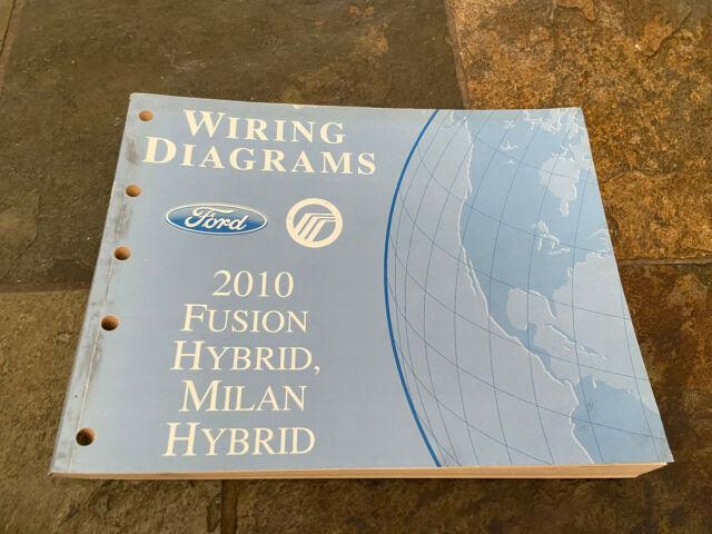 2010 Ford Fusion Mercury Milan Hybrid Wiring Diagrams