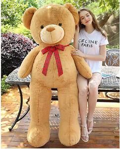 63giant huge big stuffed brown teddy bear stuffed animals plush image is loading 63 039 039 giant huge big stuffed brown publicscrutiny Gallery