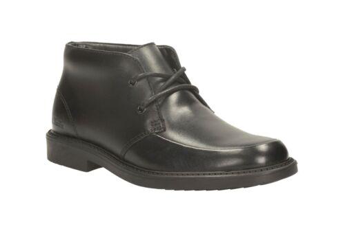 Botas negras cuero Boys de Top Deon Clarks 1qfPwa1xB