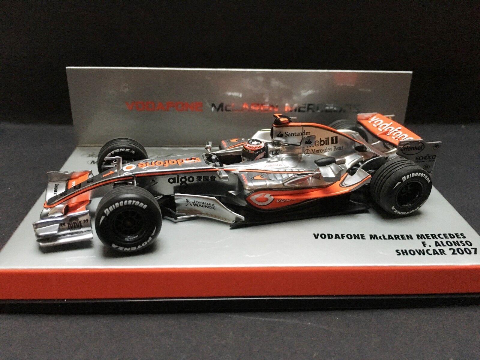 Minichamps - Fernando Alonso - McLaren - MP4 22 - 2007 - 1 43 - Showcar