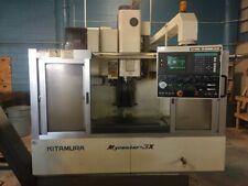 Used Kitimura Mycenter 3x Cnc Vertical Machining Center Mill 10k Rpm Ct 40 1994