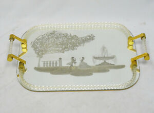 HUGE-VENINI-MURANO-TWISTED-GLASS-ROPE-ETCHED-SILHOUETTE-MIRROR-TRAY