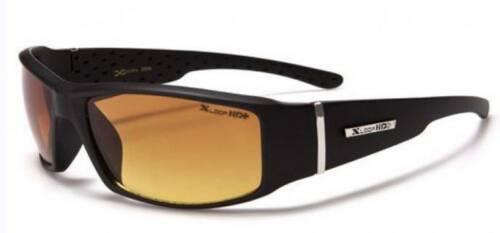 Xloop Hd Vision Black High Definition Anti Glare Lens Sunglasses Free Pouch!
