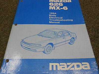 1994 Mazda 626 Mx 6 Mx6 Body Electrical Service Repair