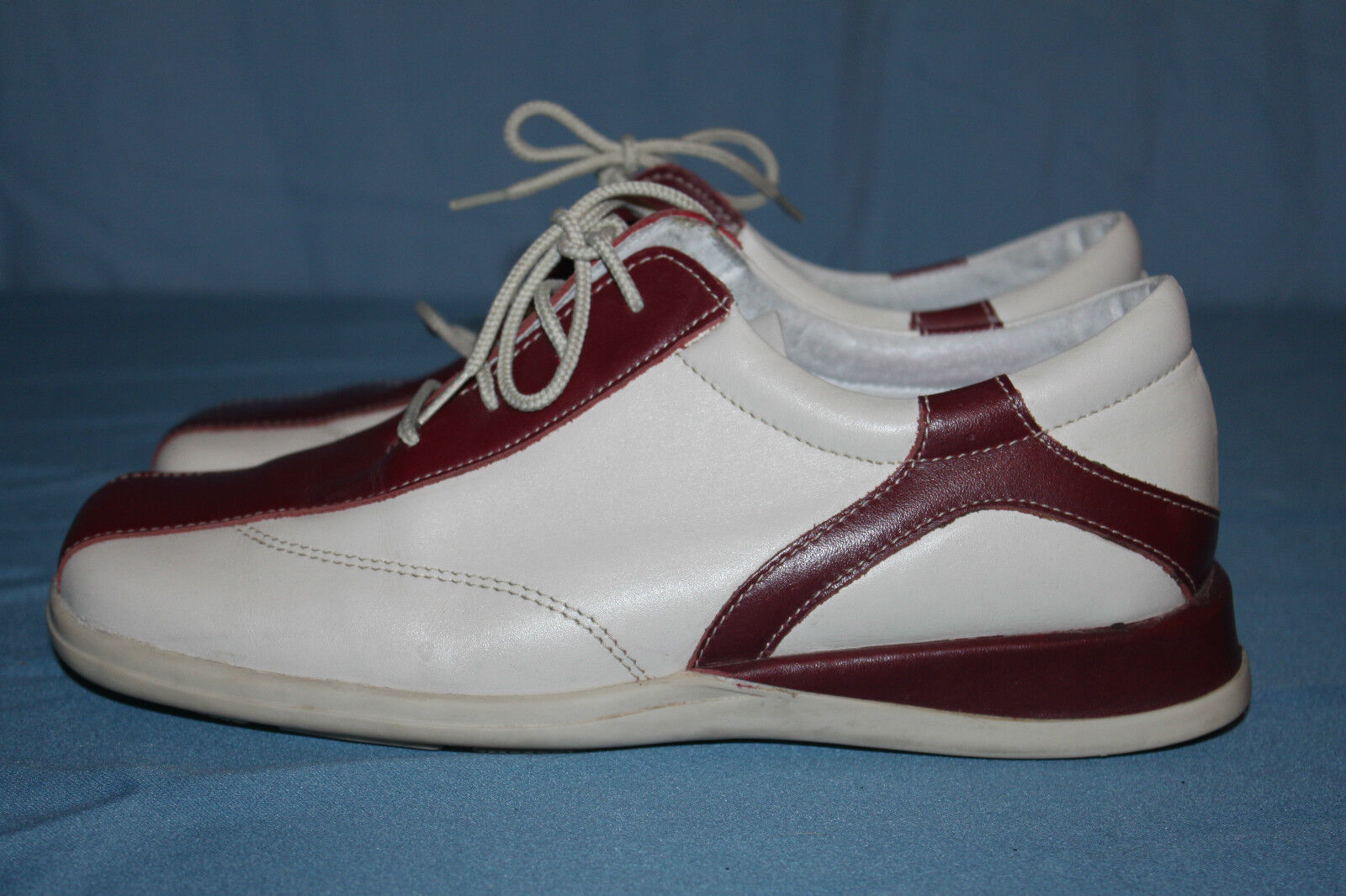 Derby shoes ALL LOOSELY Leather Bordeaux Off-white T 39 BE
