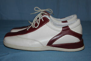 Derby-Shoes-all-Loosely-Leather-Bordeaux-Off-White-T-39-Be