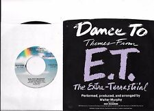 WALTER MURPHEY * 45 * Themes from E.T. * 1982 * UNPLAYED MINT ! USA Vinyl w/ PS