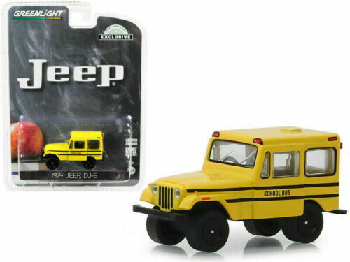 1974 jeep d-5 School Bus *** GreenLight hobby 1:64 OVP