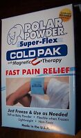 Polar Powder Super-flex Cold Pak With Magnetic Therapy-reusable-made In U.s.a.