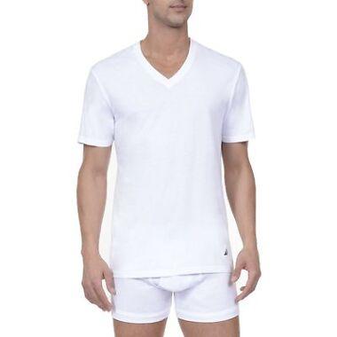 3-Pack Nautica Mens V-Neck T-Shirt