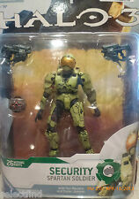 HALO 3 EQUIPMENT EDITION SECURITY SPARTAN SOLDIER~NEW~COLLECTOR FIGURE~MILITARY