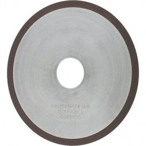"100 Grit Tru-Maxx 6/"" Diam Diamond Cutoff Wheel 0.045/"" Thick x 1-... Type 1A1R"