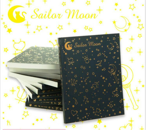 New Sailor Moon Notebook Diary Note Book Gift Diary Book Cosplay 2 Colors