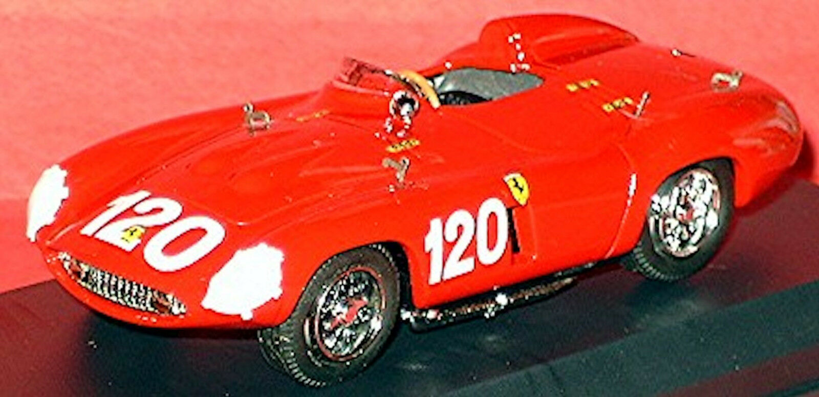 nuevo estilo Ferrari 750 750 750 Monza Targa Florio 1955  120 Rojo Rojo 1 43 Mejor Box  alto descuento