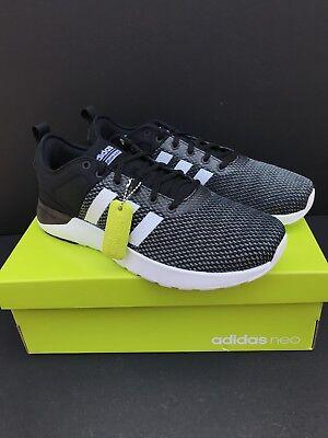 New Adidas NEO CF Super Racer BB9763 Running Black Shoes Mens Size 8.5 | eBay