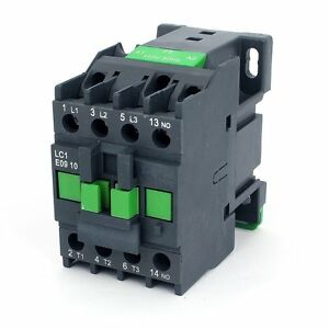Details about AC Contactor Motor Starter Relay 3-Phase Pole 1N0 24V on