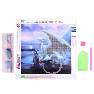 CW/_ Full Drill 5D Diamond Painting Embroidery Cross Crafts Stitch Kit Home Decor