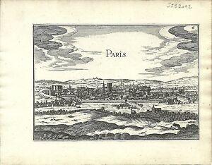 Antique-map-Paris