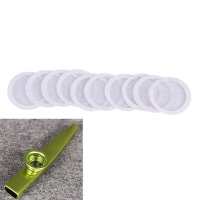 10X Diaphragm Kazoo Flute Standard Common Size Protective film SEAU