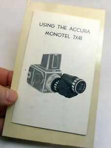 Using-Acura-Monotel-7X40-telescope-Instruction-Manual-Guide-EN-English