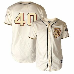 Details about Madison Bumgarner MAJESTIC 2012 Giants WS Champ Gold Ring Ceremony Jersey YOUTH