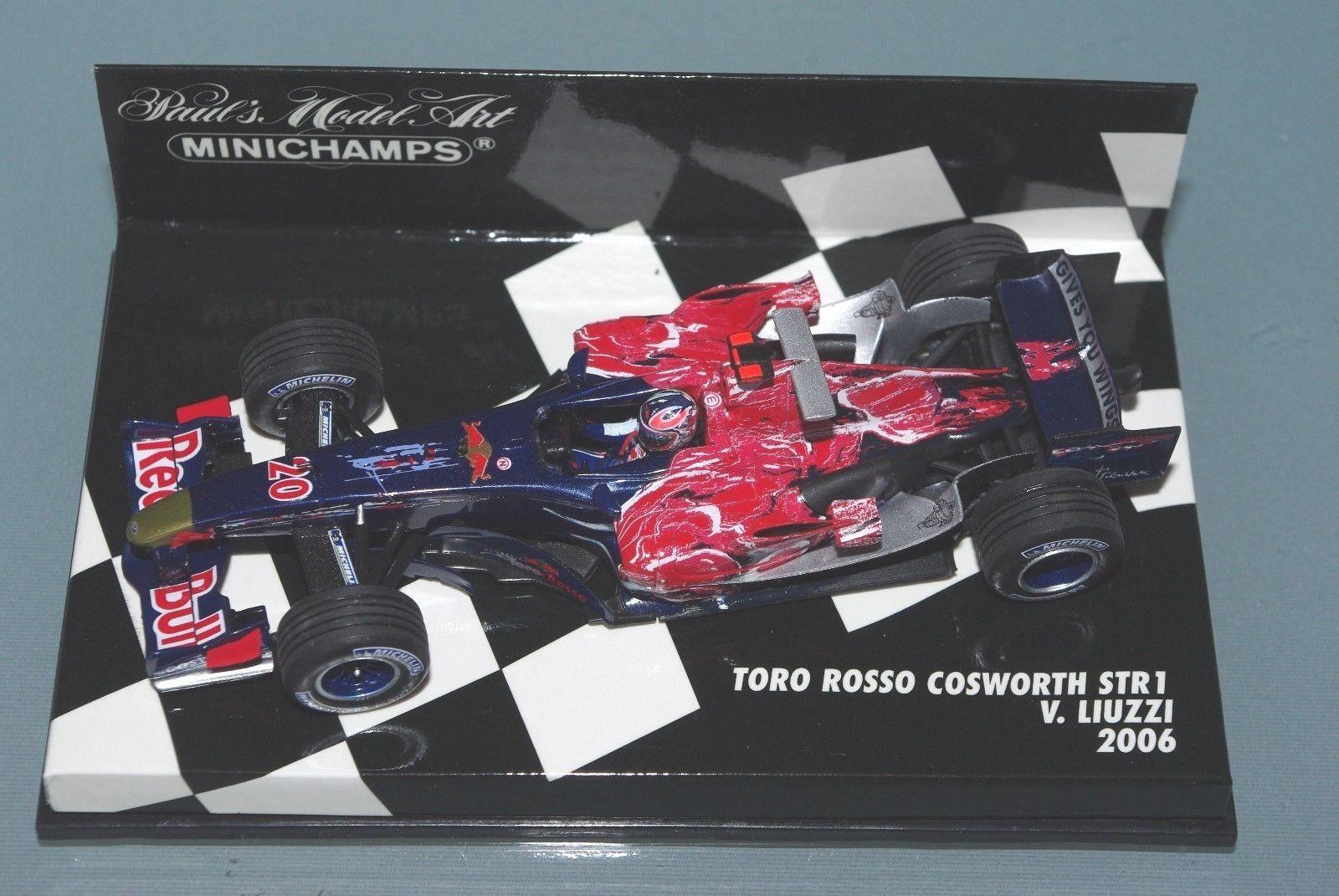 Minichamps F1 1 43 Toro Rosso Cosworth STR1 Vitantonio Liuzzi 2006