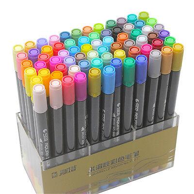 New STA Colors Watercolor Pen Cartoon Graffiti Art Sketch Markers Drawing Pens