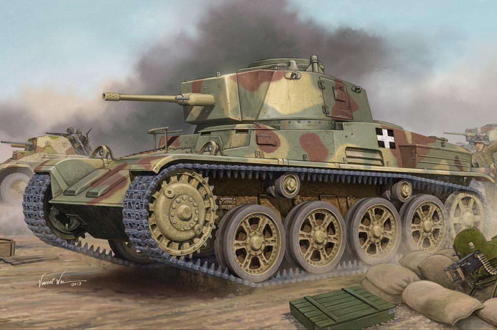 82479 Hobby Boss 1 35 Model III-C40 Hungarian Light Tank Toldi Kit Armored Car