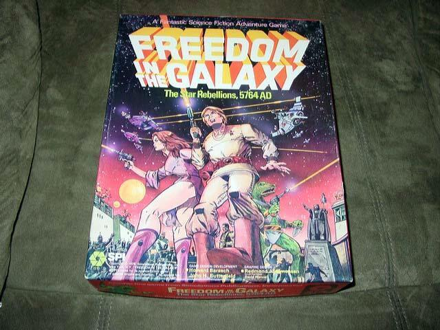 SPI 1979     Freedom in the Galaxy - The Star Rebellions - 5764 AD (PUN) bookcase d34880