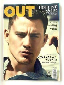 Out Magazine June / July 2012 Channing Tatum Hot List 2012 Hollwood