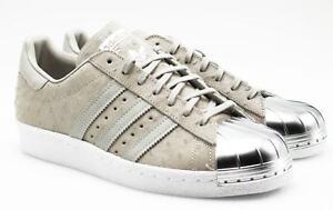 Details zu Adidas Superstar 80s W Metal Toe Damen Sneaker Schuhe Leder Gr. 41 42 42,5 NEU