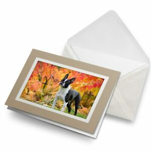Greetings-Card-Biege-Autumn-French-Bulldog-Dog-Puppy-16740
