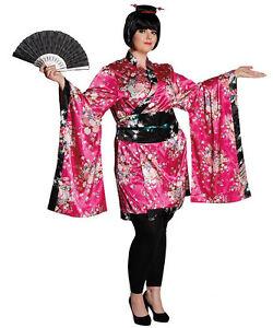 Geisha Fukumi Fullcut Damenkostum Neu Damen Karneval Fasching