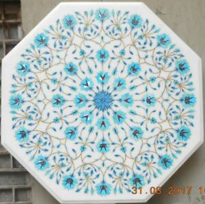 Marble Center 3 X3 Coffee Dining Table Top Inlay Mosaic Corner