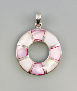 9925776-925er-Silber-Anhaenger-Perlmutt-rosa-3x4cm