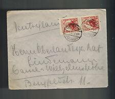 1927 Unislaw Poland Cover to Germany