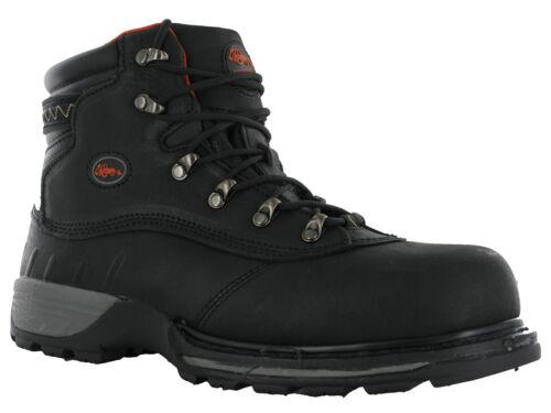 Workforce WF Safety Leather Hydry Waterproof Steel Toe Cap Work Boots Mens
