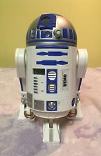 STAR WARS R2-D2 Alarm Clock ELECTRONIC LIGHT & SOUND Noise Red Light