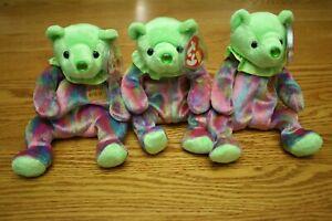 Ty Beanie Babies AUGUST Birthday Bear MWMT