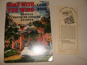 Details about Gone With the Wind Cook Book Southern Cooking w/ Offer Coupon  Pebeco Toothpaste