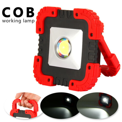 50W Solar LED Light USB Rechargeable Outdoor Camping Work Torch Flood Flashlamp