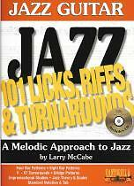 JAZZ GUITAR 101 LICKS RIFFS /& TURNAROUNDS Bk /& CD