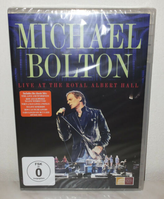 DVD MICHAEL BOLTON - LIVE AT THE ROYAL ALBERT HALL - NUOVO NEW