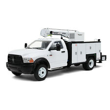 NEW 2016 DODGE RAM 5500 GARBAGE DUMPSTER SERVICE TRUCK w/ CRANE by first gear