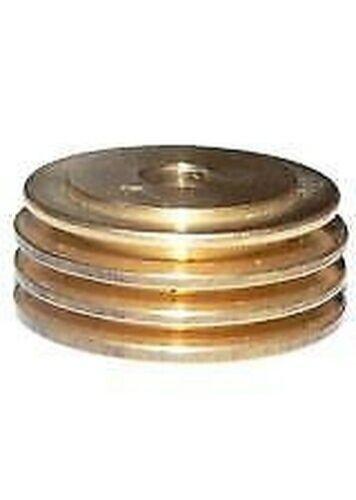 4x Spark Plug Brass Cooling Fin