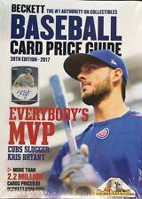 Beckett Baseball Card 2017 Annual Guide #39 39th Edition