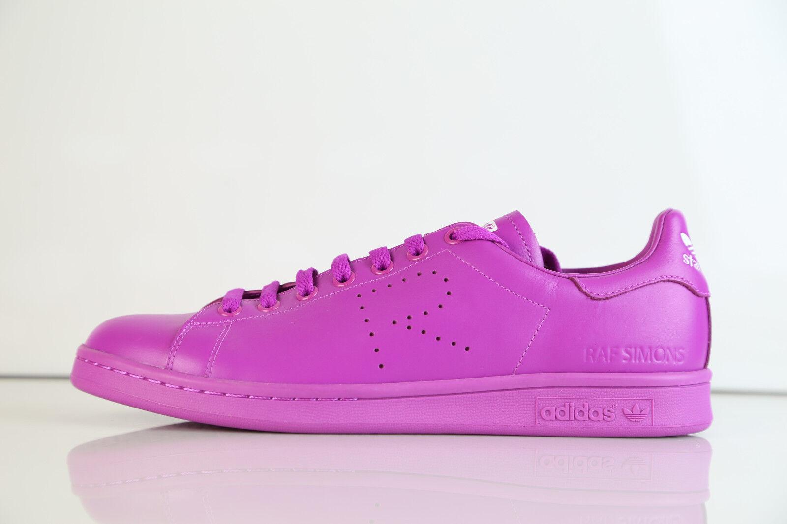 Adidas x raf simons stan smith flash rosa s74593 460 - 12 - leder.