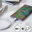 miniature 6 - 10Ft Android Micro USB Fast Charger Cable Data Sync Charging Cord For Samsung LG